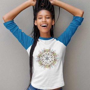 Mandala Jersey T-Shirt